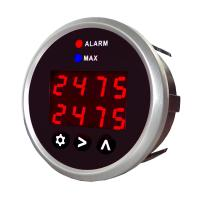 DPG-SD Series Dual Channel Round Digital Type K Thermocouple Gauge Display