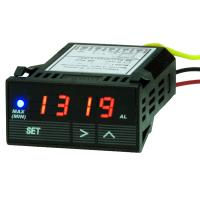 1/32 DIN Miniature Digital Process Meter Display for Temperature, Voltage or Cur
