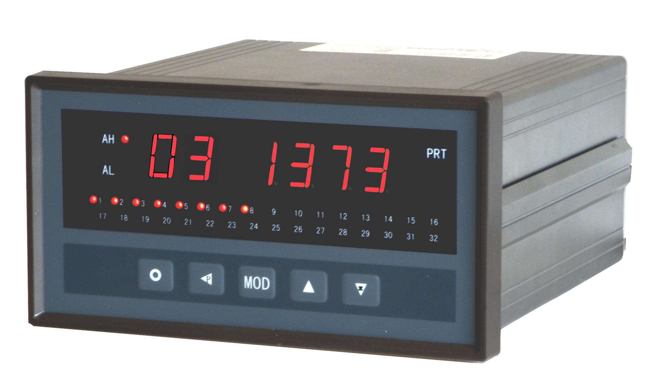 8, 16, 24, 32 Channel Digital Thermocouple or RTD Temperature Scanner