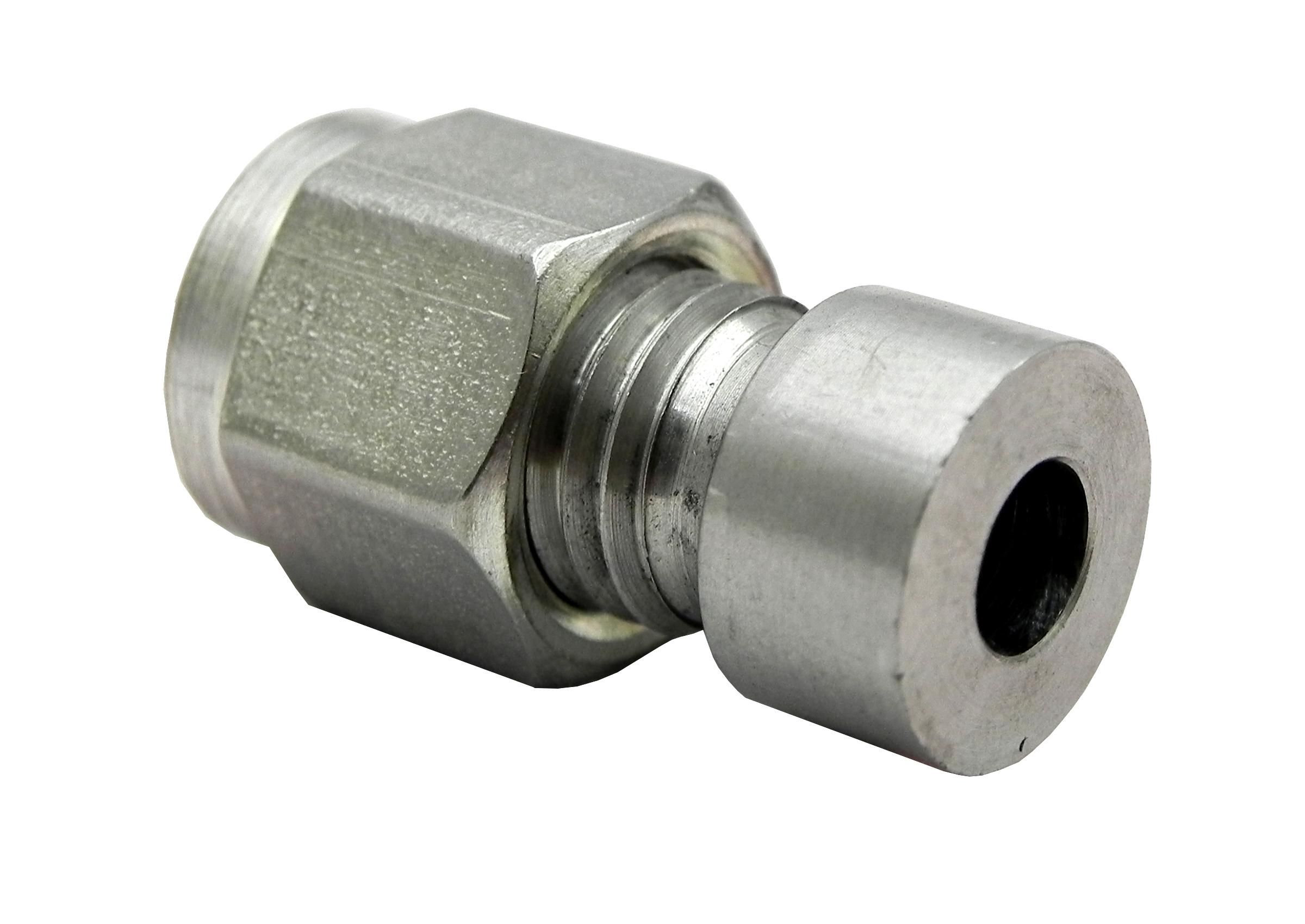 Thermocouple compression fitting adapters direct weld