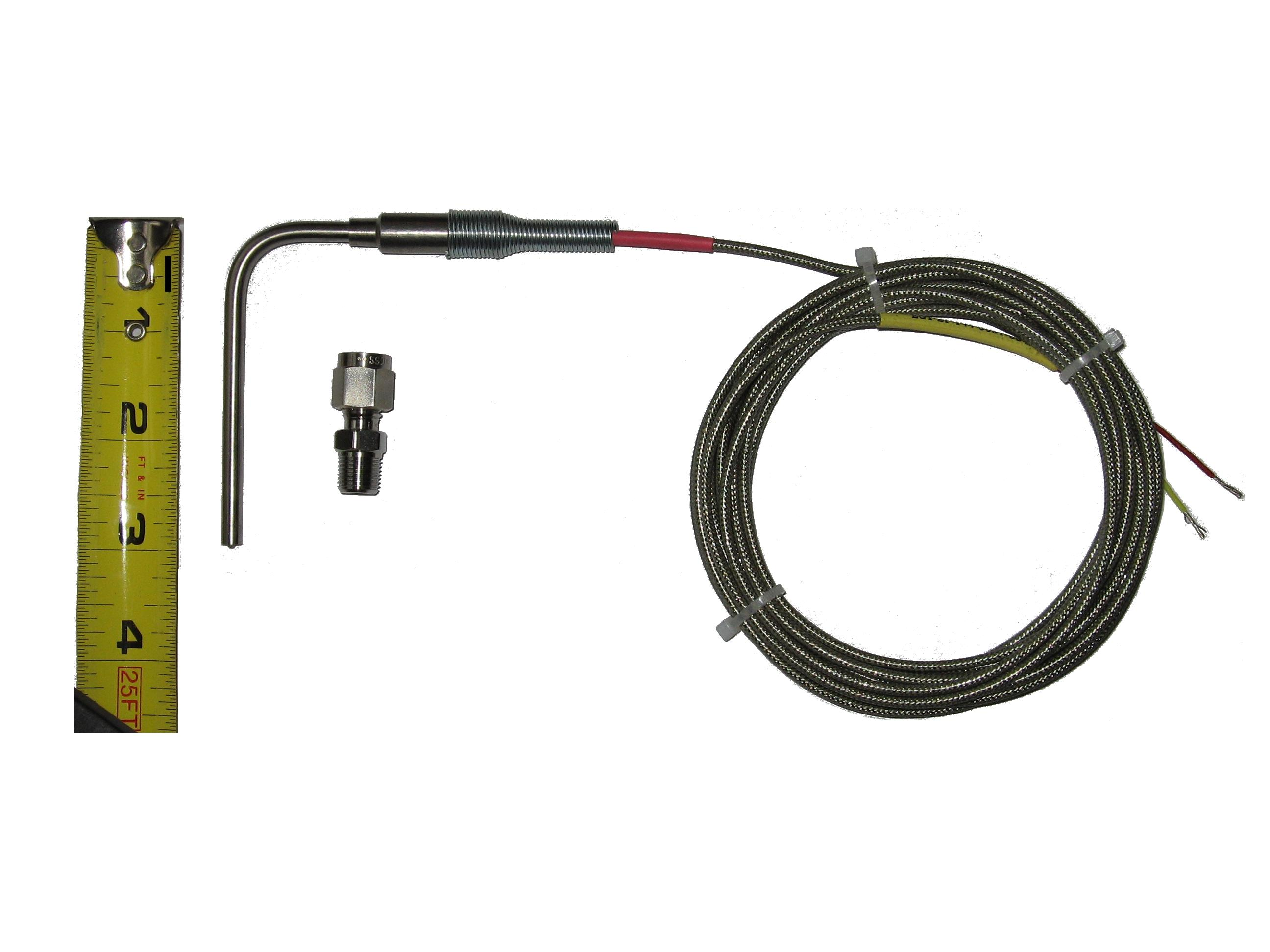 EGT Temperature Sensors for Exhaust Gas Probe with Exposed Tip & Mini Connector Auto Parts & Accessories Performance & Racing Parts