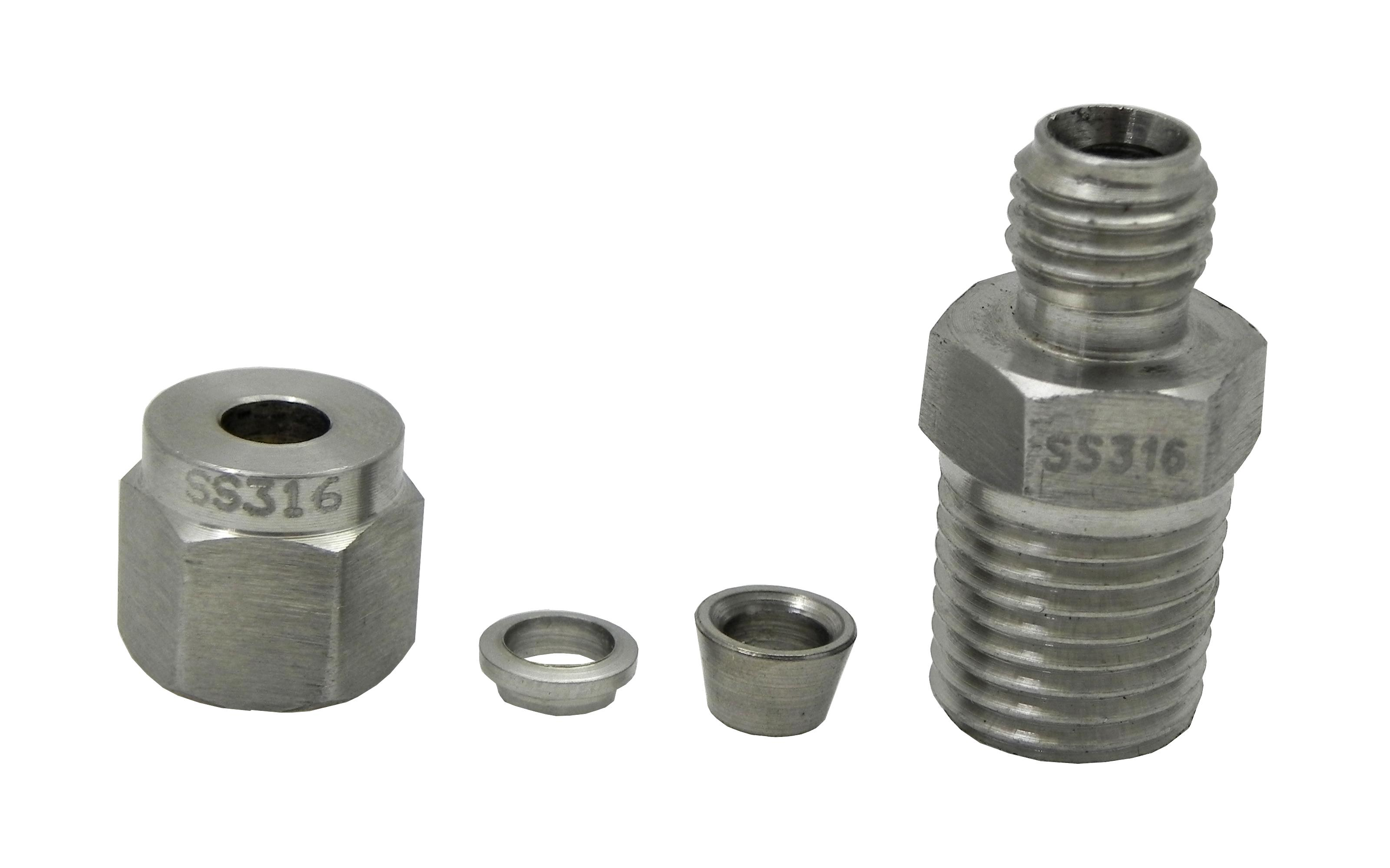 Egt probe compression fittings quot npt thread